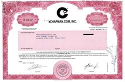 eChapman.com, Inc. (Dot Com Bomb - Sued by the SEC)  - Maryland 2002