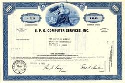 E.P.G. Computer Services, Inc. - New York 1971