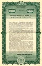 Edmonson County Rock Asphalt Co. - Delaware 1927