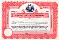 Ediphone  (Thomas  Edison's Dictaphone ) Company 1920's - SCARCE