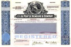 E.I. du Pont de Nemours & Company Proof - Delaware 1990
