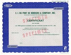 E.I. Du Pont De Nemours & Company, Inc. - Amsterdam