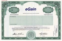 eGain Communications Corporation - Delaware