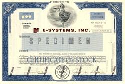E-Systems, Inc. - Delaware