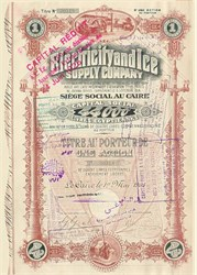 Electricity and Ice Supply Company - 1906