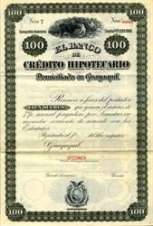 El Banco De Credito Hipotecario  - Guayaquil, Ecuador