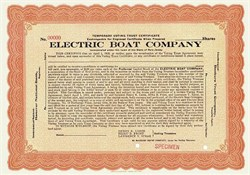Electric Boat Company ( Now General Dynamics ) - 1915