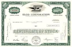 Elco Corporation - Delaware 1965