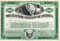 Electric Company of America ( Now American Electric Power ) - New Jersey 1902