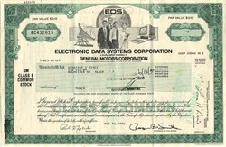 Electronic Data Systems Corporation with Roger Smith as Chairman - Delaware 1992