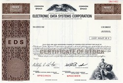 Electronic Data Systems Corporation (H. Ross Perot as Chairman) - Texas
