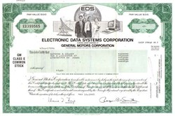 Electronic Data Systems (EDS) Corporation 1985