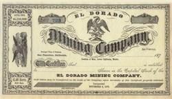 El Dorado Mining Company - 1875
