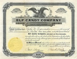 Elf Candy Company - Delaware 1921