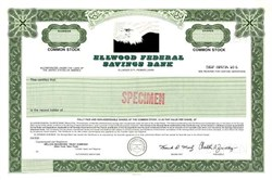 Ellwood Federal Savings Bank - Ellwood City, Pennsylvania