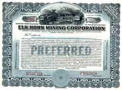 Elk Horn Mining Corporation - Virginia 1915