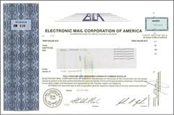 Electronic Mail Corporation of America 1982 - Early Email Company