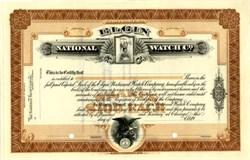 Elgin National Watch Company 1903