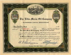 Ellis Mexia Oil Company - Colorado 1923