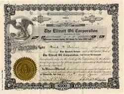 Ellicott Oil Corporation - Nelsonville, Ohio 1936