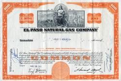 El Paso Natural Gas Company - 1960's
