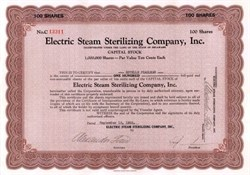 Electric Steam Sterilizing Company, Inc.