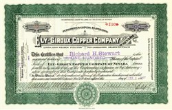 Ely - Giroux Copper Company - Ely, Nevada 1917
