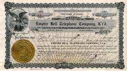 Empire Bell Telephone Company - Idaho 1905