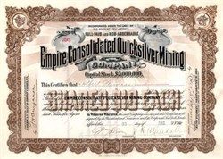 Empire Consolidated Quicksilver Mining 1901