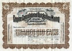 Empire Consolidated Quicksilver Mining Company - 1901