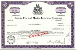 Empire Fire and Marine Insurance Company