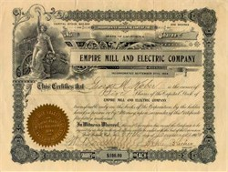 Empire Mill and Electric Company 1906 - Fort Bidwell, California