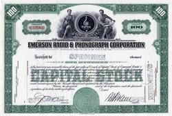 Emerson Radio & Phonograph Corporation - New York