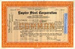 Empire Steel Corporation - Ohio 1931