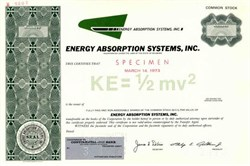 Energy Absorption Systems, Inc.