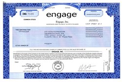 Engage, Inc. - Delaware 2002