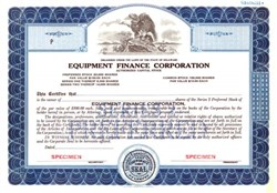 Equipment Finance Corporation - Delaware