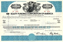 Equity Funding Bond - Huge Wall Street Scandal in the 1970s