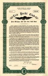 Erie Yacht Club - Pennsylvania 1917