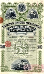 Estados Unidos Mexicanos - Republic of Mexico 1898