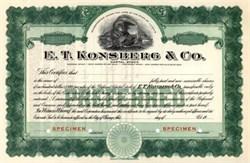 Konsberg - E.T. Konsberg & Co.