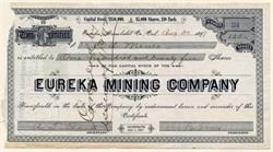 Eureka Mining Company -Humboldt County, California 1897