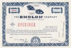 Exolon Company - Delaware