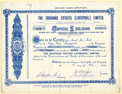 Exchange Estates (Liverpool) Limited - United Kingdom 1954