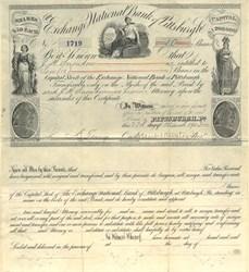 Exchange National Bank of Pittsburgh - Pennsylvania 1903