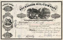 Excelsior Oil Company -  Venango County, Pennsylvania