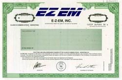 E-Z-EM, Inc.