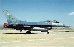 F-16C Fighting Falcon postcard