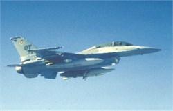 F-16D Fighting Falcon postcard