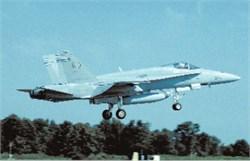 F-18C Hornet postcard